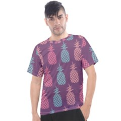 Pineapple Wallpaper Pattern 1462307008mhe Men s Sport Top