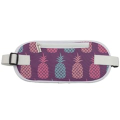 Pineapple Wallpaper Pattern 1462307008mhe Rounded Waist Pouch