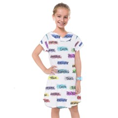 Strategy Communication Kids  Drop Waist Dress