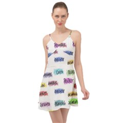 Strategy Communication Summer Time Chiffon Dress