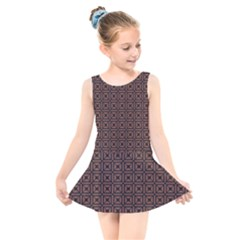 Df Taurus Chocorree Kids  Skater Dress Swimsuit