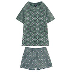 Df Rikky Frugal Kids  Swim Tee And Shorts Set
