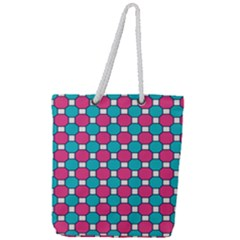 Df Hippin Whistler Full Print Rope Handle Tote (large) by deformigo