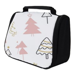 Christmas Pattern Full Print Travel Pouch (small)