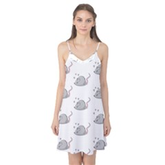 Mouse Seamless Pattern Camis Nightgown