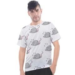 Mouse Seamless Pattern Men s Sport Top