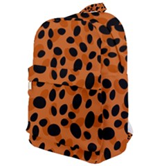 Orange Cheetah Animal Print Classic Backpack by mccallacoulture