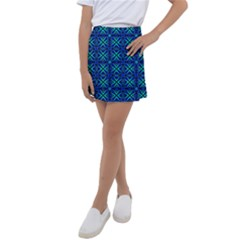 Abstract Q 8 Kids  Tennis Skirt by ArtworkByPatrick