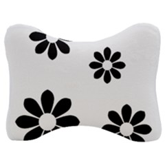 Land Of Flowers Velour Seat Head Rest Cushion