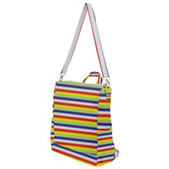 Stripey 2 Crossbody Backpack by anthromahe