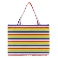 Stripey 2 Medium Tote Bag by anthromahe