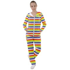 Stripey 2 Women s Tracksuit by anthromahe