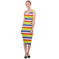 Stripey 2 Sleeveless Pencil Dress by anthromahe