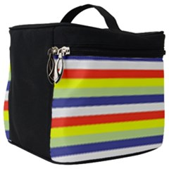Stripey 2 Make Up Travel Bag (big) by anthromahe