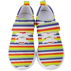 Stripey 2 Women s Velcro Strap Shoes by anthromahe