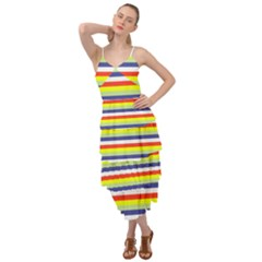 Stripey 2 Layered Bottom Dress by anthromahe