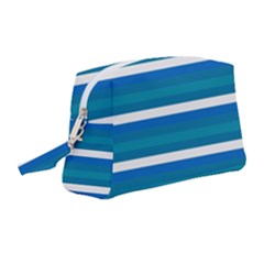 Stripey 3 Wristlet Pouch Bag (medium) by anthromahe