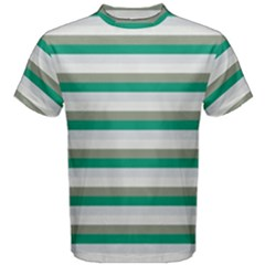 Stripey 4 Men s Cotton Tee by anthromahe