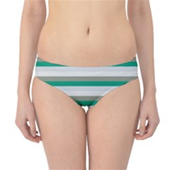 Stripey 4 Hipster Bikini Bottoms by anthromahe