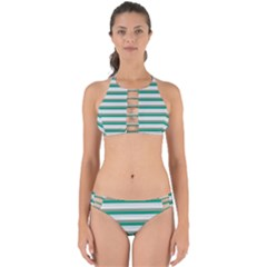 Stripey 4 Perfectly Cut Out Bikini Set by anthromahe