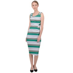 Stripey 4 Sleeveless Pencil Dress by anthromahe