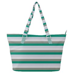 Stripey 4 Full Print Shoulder Bag by anthromahe
