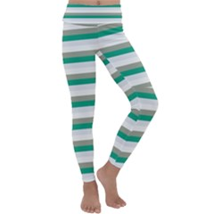 Stripey 4 Kids  Lightweight Velour Classic Yoga Leggings by anthromahe