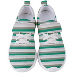 Stripey 4 Women s Velcro Strap Shoes by anthromahe