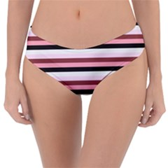 Stripey 5 Reversible Classic Bikini Bottoms by anthromahe