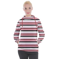 Stripey 5 Women s Hooded Pullover