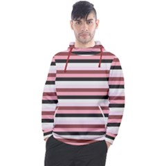 Stripey 5 Men s Pullover Hoodie by anthromahe