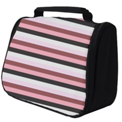 Stripey 5 Full Print Travel Pouch (big) by anthromahe