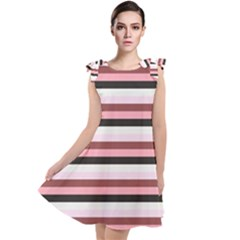 Stripey 5 Tie Up Tunic Dress by anthromahe