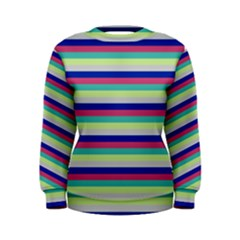 Stripey 6 Women s Sweatshirt by anthromahe