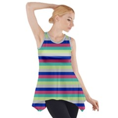 Stripey 6 Side Drop Tank Tunic by anthromahe