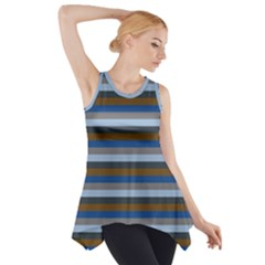 Stripey 7 Side Drop Tank Tunic by anthromahe