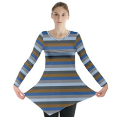 Stripey 7 Long Sleeve Tunic  by anthromahe