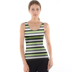 Stripey 8 Tank Top by anthromahe