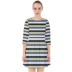 Stripey 8 Smock Dress by anthromahe