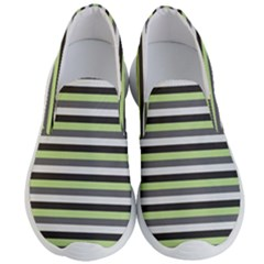 Stripey 8 Men s Lightweight Slip Ons by anthromahe