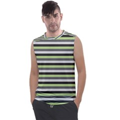 Stripey 8 Men s Regular Tank Top by anthromahe