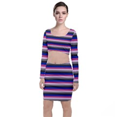 Stripey 9 Top And Skirt Sets by anthromahe