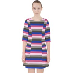Stripey 9 Pocket Dress by anthromahe