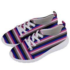 Stripey 9 Women s Lightweight Sports Shoes by anthromahe