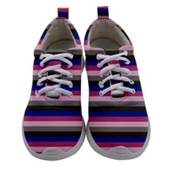 Stripey 9 Women Athletic Shoes by anthromahe