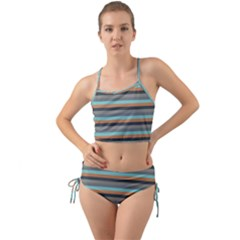 Stripey 10 Mini Tank Bikini Set by anthromahe