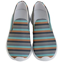 Stripey 10 Men s Lightweight Slip Ons by anthromahe