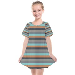 Stripey 10 Kids  Smock Dress by anthromahe