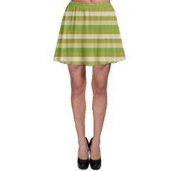 Stripey 11 Skater Skirt by anthromahe