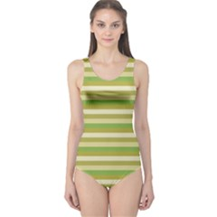 Stripey 11 One Piece Swimsuit